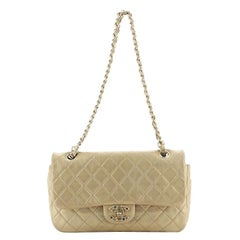 Chanel Precious Jewel Flap Bag Quilted Lambskin Large