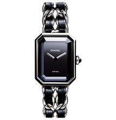 Chanel Premiere Black Dial Ladies Watch H0451