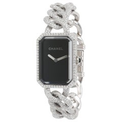 Chanel Premiere H3260 Women's Diamond Watch in 18 Karat White Gold
