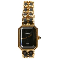 CHANEL Première Watch In Gold And Leather