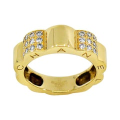 Chanel Profil De Camellia Diamond 18 Karat Gold Ring