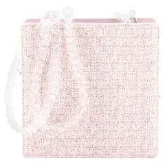 Chanel PVC Chain Fantasy Square Bag Tweed Small