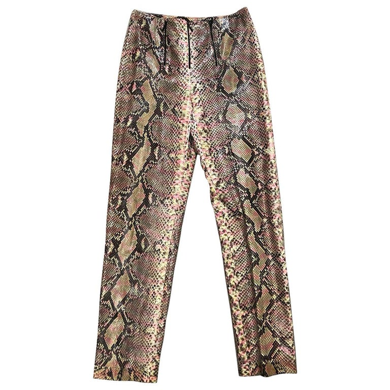 Chanel python-skin pants, 2010, offered by Entre Nous