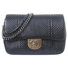 Chanel Python Waist Chain Flap Bag