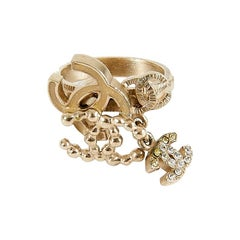 CHANEL quadruple CC ring