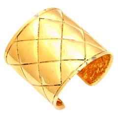 Chanel Quilted Bangle Bracelet