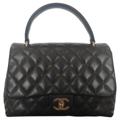 Chanel Quilted CC Kelly Bag
