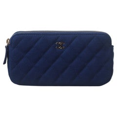 Chanel Quilted Clutch with Chain Bag