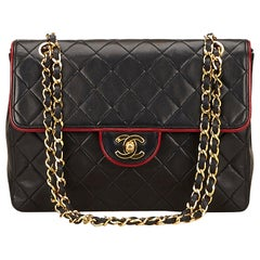 Chanel Quilted Leder Flap Tasche