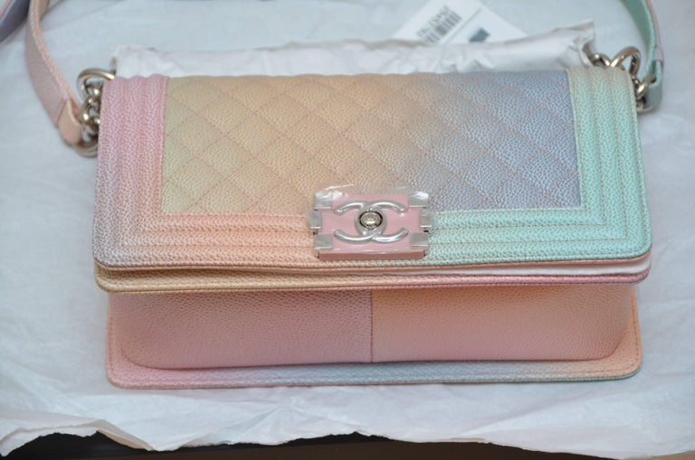 6652eeb4725af1 Chanel Crossbody Bags 2018. Chanel Rainbow Cuba Boy Handbag Medium '17  Crossbody NEW Sold Out For
