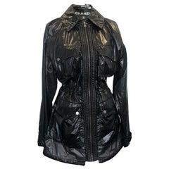 Chanel Raincoat Jacket - Black