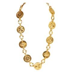Chanel Rare 1970's Oversize Necklace Belt