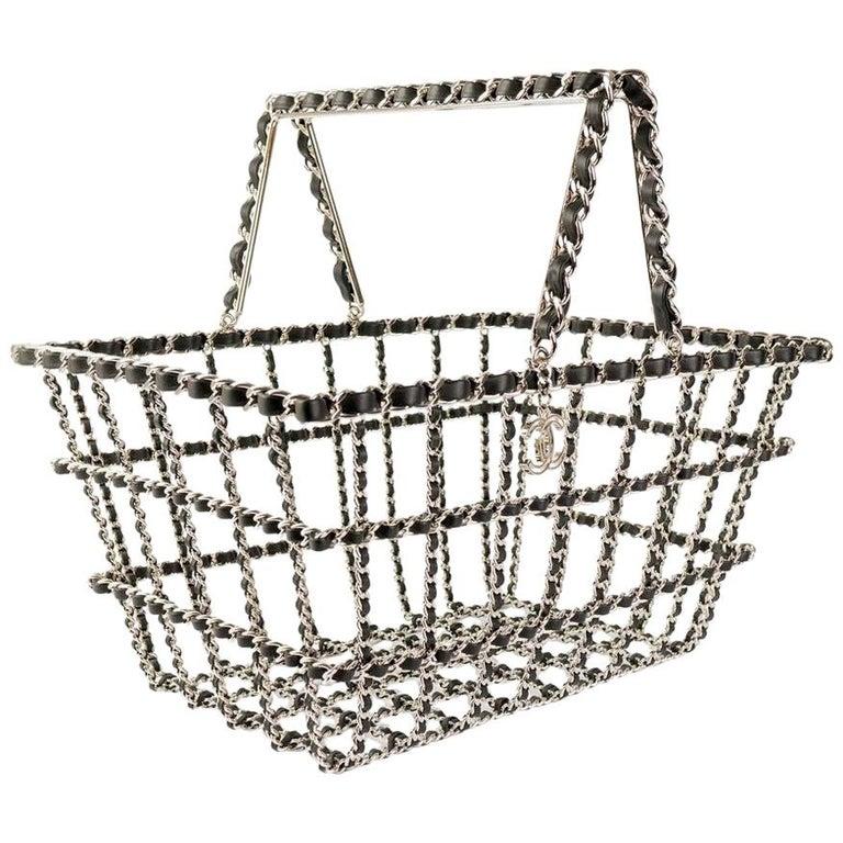 Chanel supermarket basket, 2014