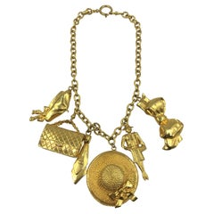 Chanel Rare Iconic Charm Necklace