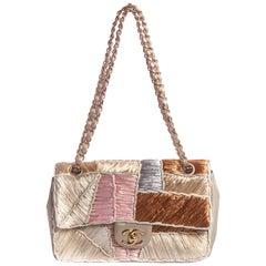Chanel Rare Raffia Single Flap Bag
