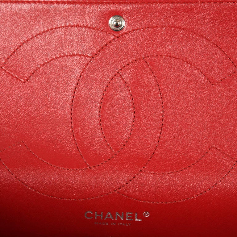 Chanel Red Calfskin 2.55 Reissue Flap Bag- 227 size 5
