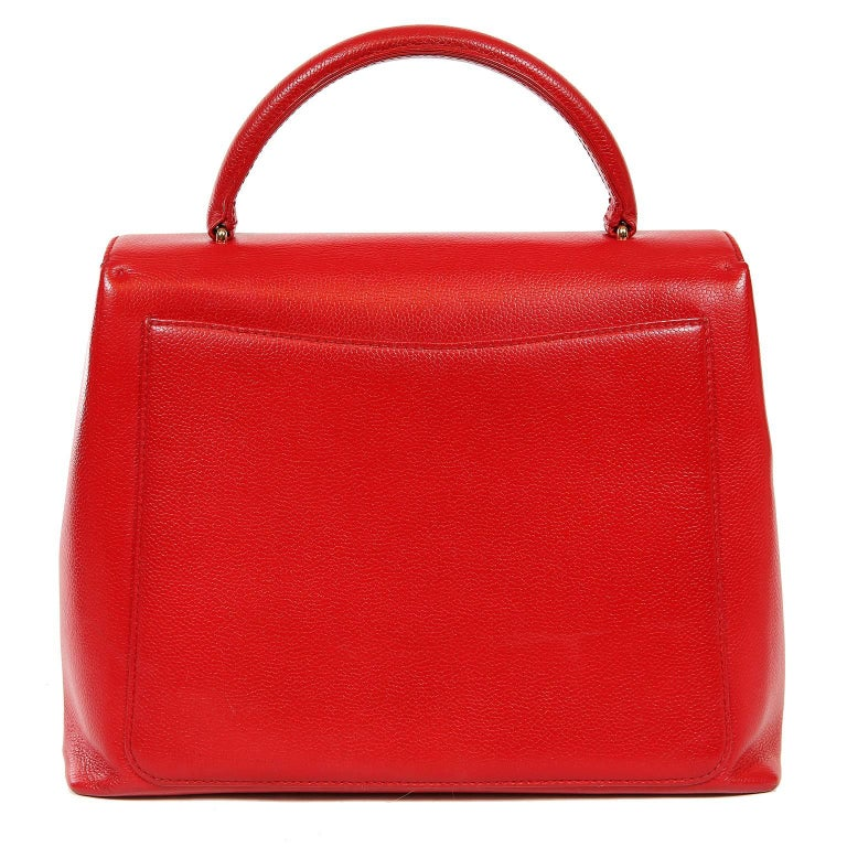 cc61771cf6c4 Chanel Red Caviar Kelly Bag- Excellent Plus Condition Stunning in lipstick  red caviar leather,