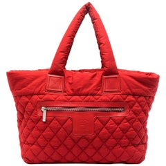 Chanel Red Cocoon Bag