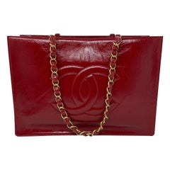 Chanel Red Tote