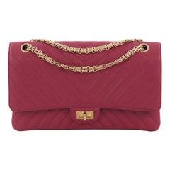 0aef1d2e7cf3 Chanel Reissue 2.55 Flap Bag Chevron Sheepskin 226