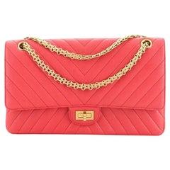 Chanel Reissue 2.55 Flap Bag Chevron Sheepskin 226