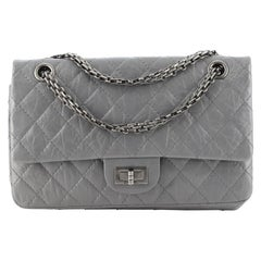 Chanel Reissue 2.55 Flap Bag Quilted Aged Calfskin 225
