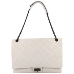 Chanel Reissue 2.55 Flap Bag Quilted Aged Calfskin XL