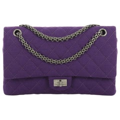 Chanel Reissue 2.55 Flap Bag Quilted Jersey 226