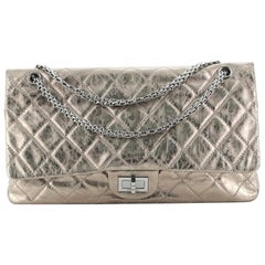 Chanel Reissue 2.55 Flap Bag Quilted Metallic Aged Calfskin 22
