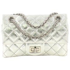 Chanel Reissue 2.55 Flap Bag Quilted Metallic Aged Calfskin 224