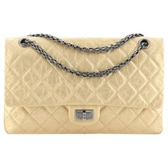 Chanel Reissue 2.55 Flap Bag Quilted Metallic Aged Calfskin 226