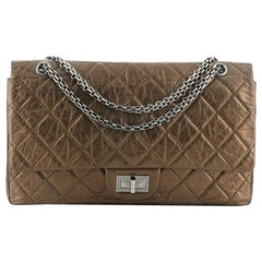 Chanel Reissue 2.55 Flap Bag Quilted Metallic Aged Calfskin 227