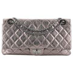 Chanel Reissue 2.55 Flap Bag Quilted Metallic Aged Calfskin 228