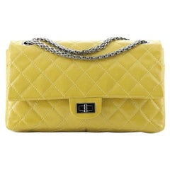 Chanel Reissue 2.55 Flap Bag Quilted Patent Caviar 226