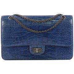 Chanel Reissue 2.55 Handbag Crocodile 227