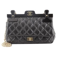 Chanel Reissue 2.55 Hanger Flap Bag Quilted Aged Calfskin 225