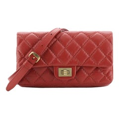 Chanel Reissue 2.55 Waist Bag Quilted Aged Calfskin