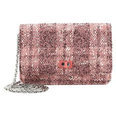 Chanel Reissue 2.55 Wallet on Chain Quilted Tweed