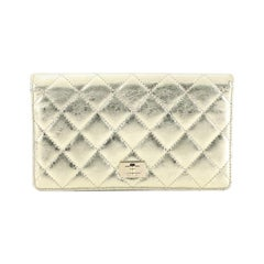Chanel Reissue Bifold Wallet Quilted Aged Calfskin Long