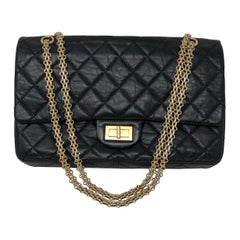 Chanel Reissue Black Bag GHW