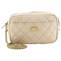 Chanel Reissue Camera Crossbody Bag Quilted Aged Calfskin Mini
