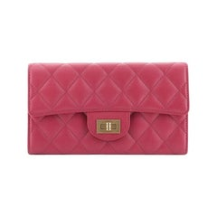 Chanel Reissue Flap Wallet Quilted Caviar Long