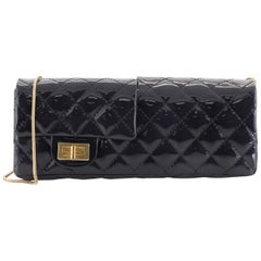 Chanel Reissue Reversible Clutch Quilted Patent