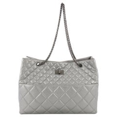Chanel Reissue Tote Quilted Aged Calfskin East West