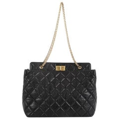 Chanel Reissue Tote Quilted Aged Calfskin Large