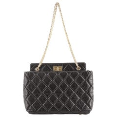 Chanel Reissue Tote Quilted Aged Calfskin Medium