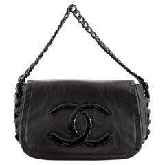 Chanel Resin Modern Chain Flap Bag Lambskin Medium