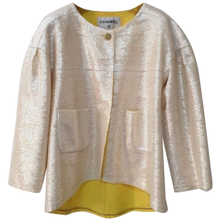 CHANEL Resort 2012 Sequins Jacket