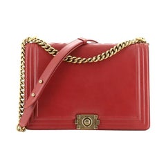 Chanel Reverso Boy Flap Bag Calfskin Large
