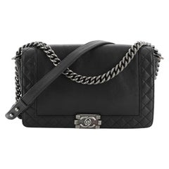 Chanel Reverso Boy Flap Bag Calfskin Old Medium
